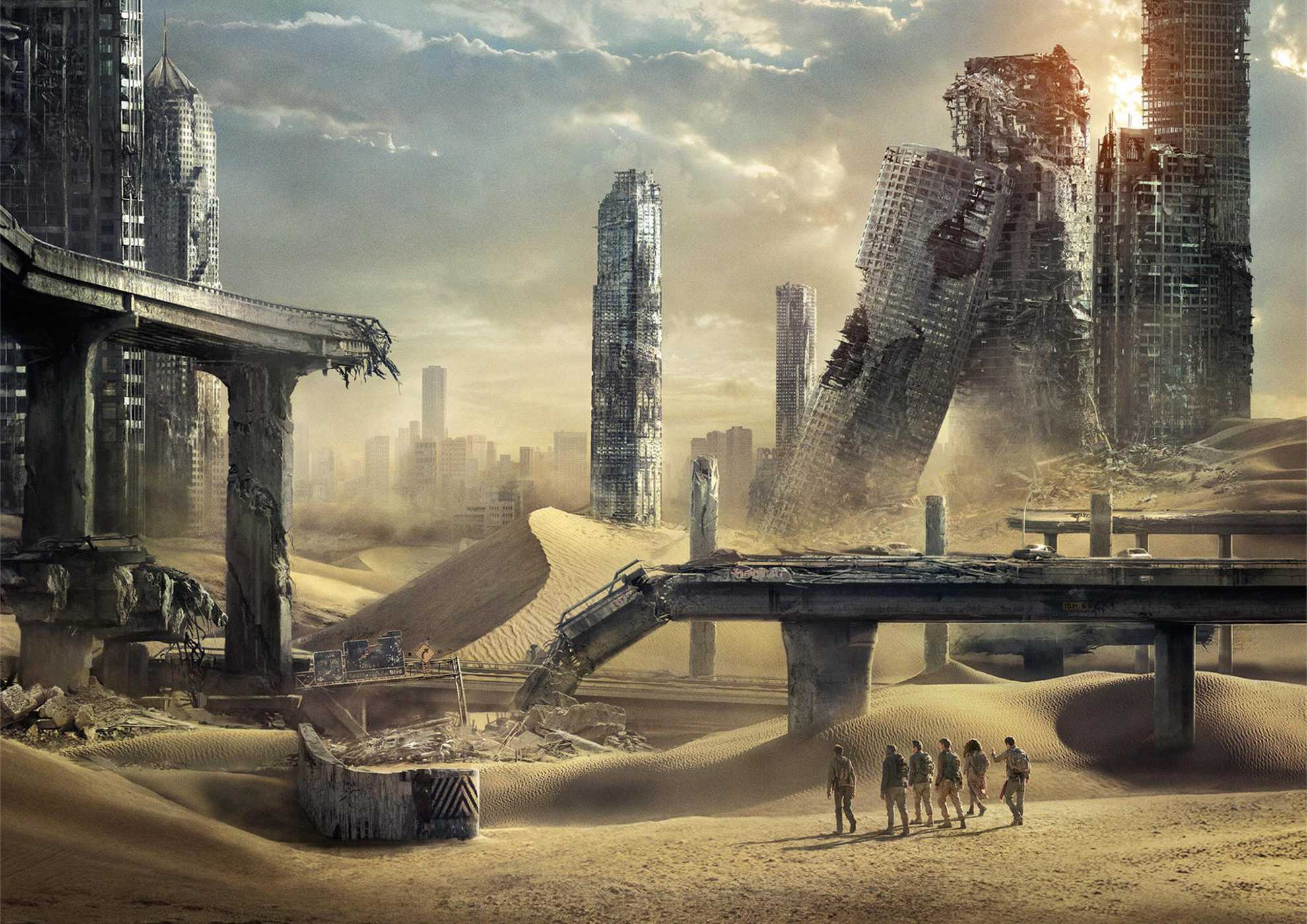 Cover Maze Runner: The Scorch Trials