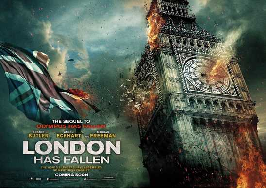 London Has Fallen cover