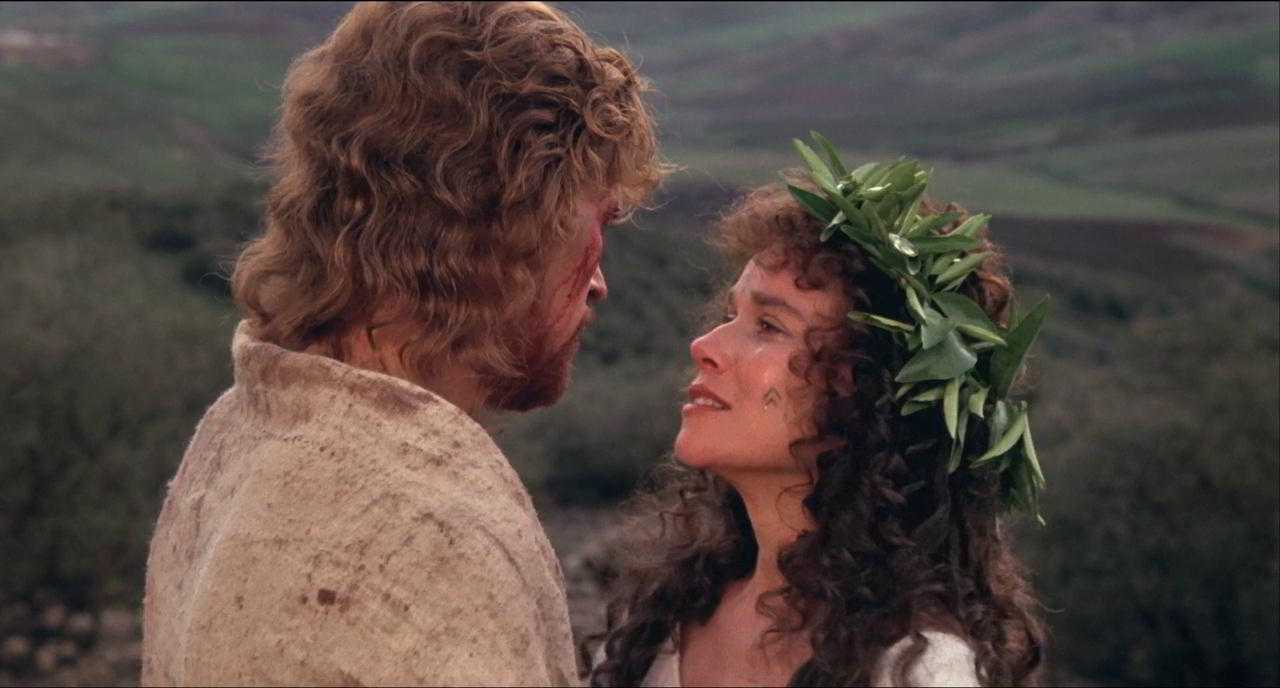 The Last Temptation of Christ, Willem Dafoe, Barbara Hershey