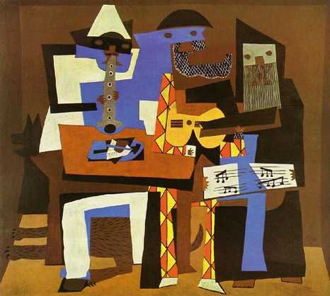 The three musicians Picasso