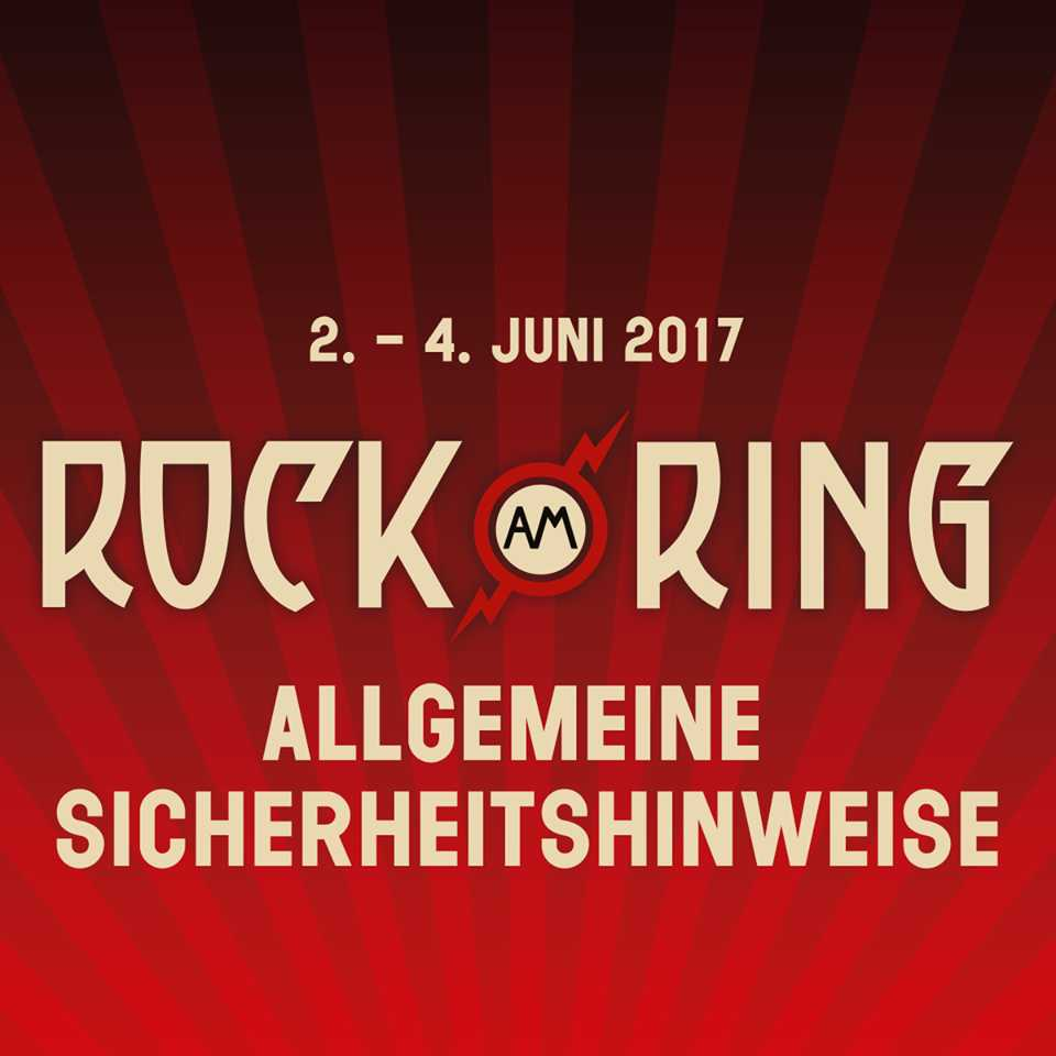 Sicherheit - Rock am Ring 2017