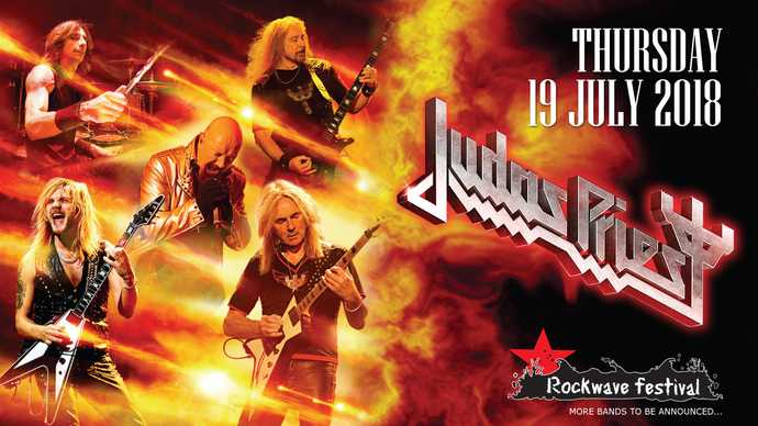 Λεπτό προς Λεπτό: Rockwave Festival 2018: Judas Priest, Saxon, Accept, Sabaton