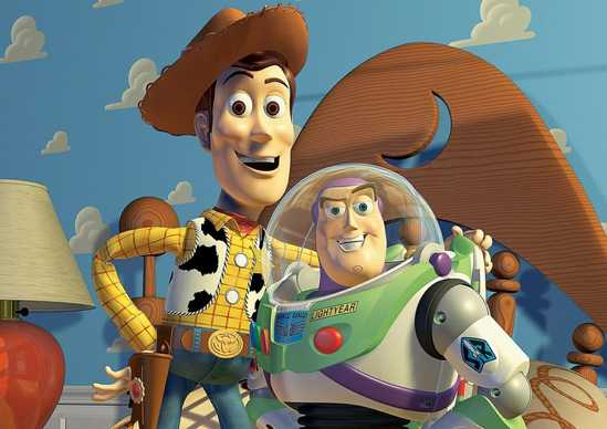 Toy Story - Woody and Buzz