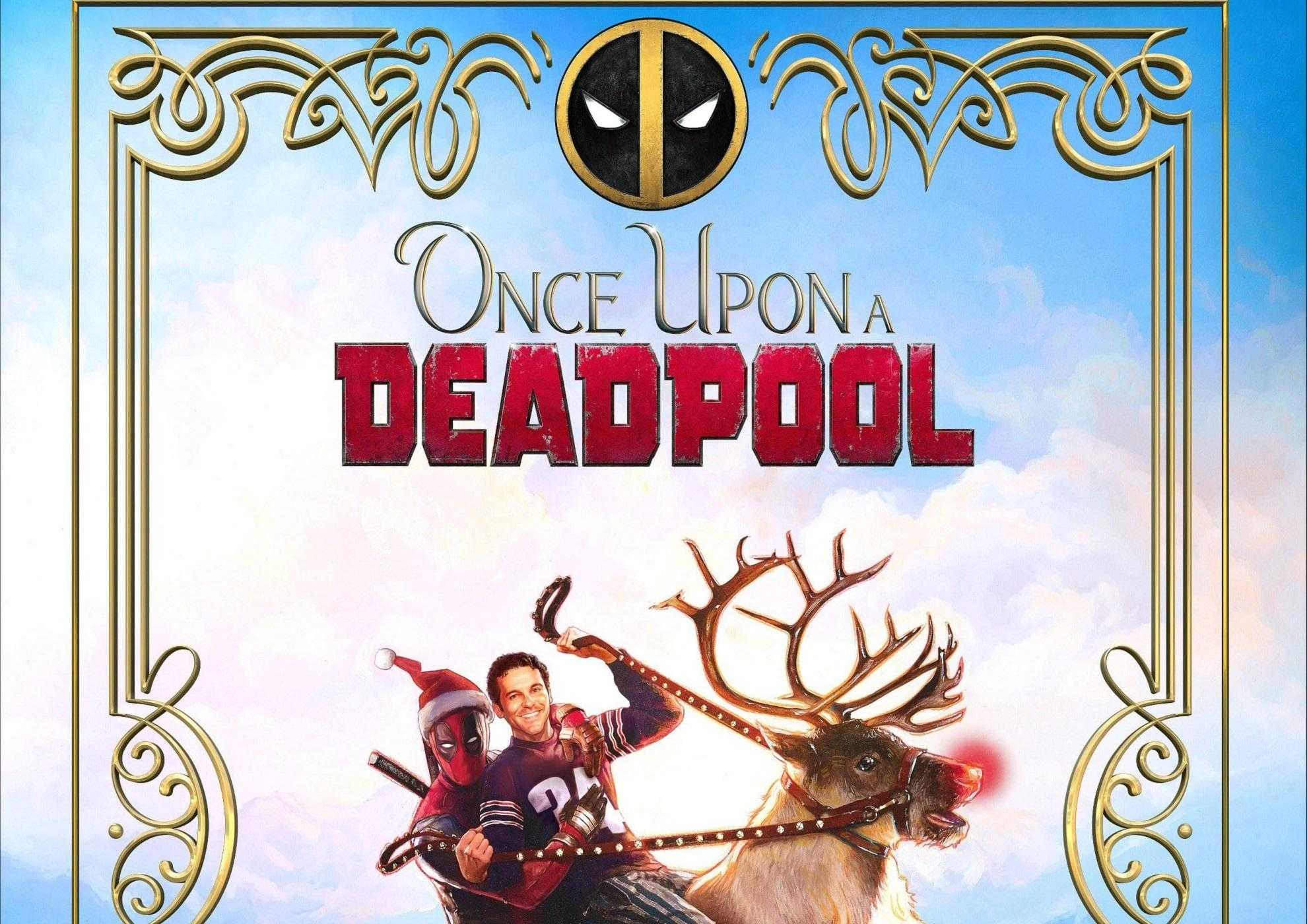 Once Upon A Deadpool cover
