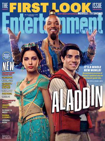 Aladdin - EW Front Page