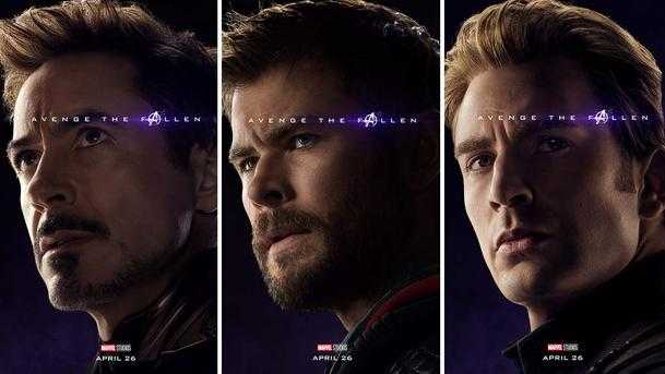 Avengers Endgame, big Three