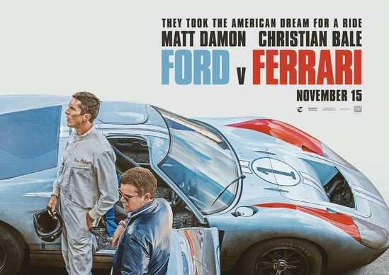 Ford v Ferrari cover