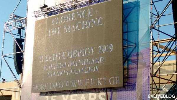 Florence + the Machine @ Αθήνα, 21/09/2019