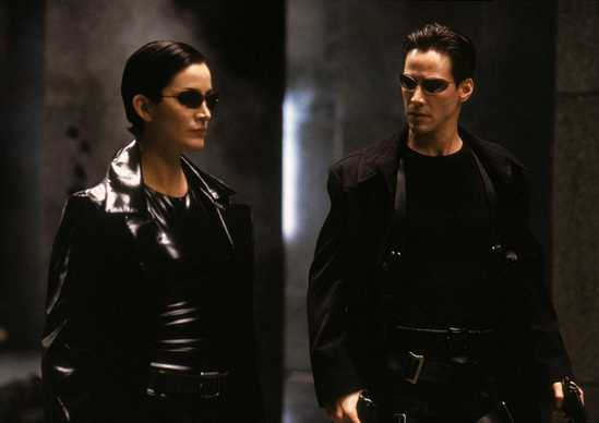 The Matrix, Keanu Reeves & Carrie-Anne Moss