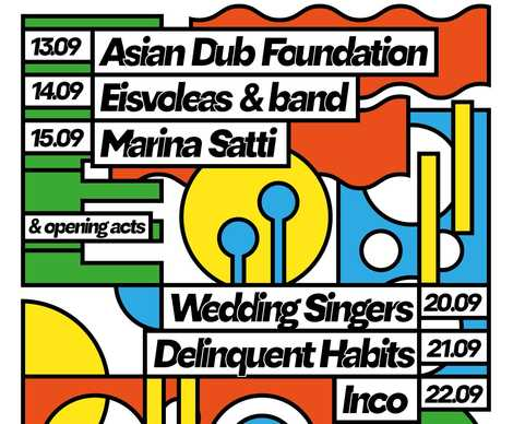 Οι Asian Dub Foundation και οι Delinquent Habits στο Burger Fest 2019
