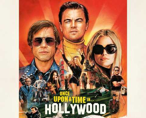 Once Upon a Time... In Hollywood - Poster