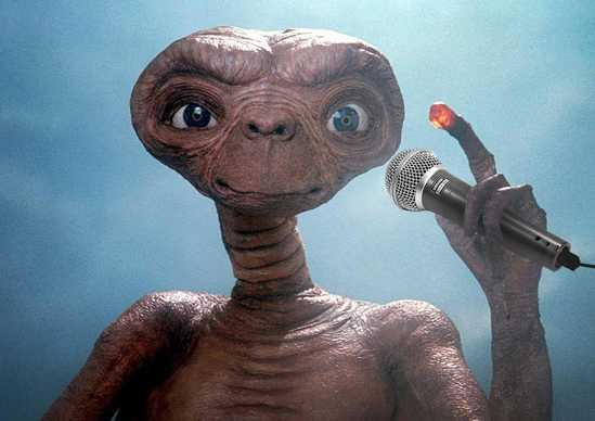 ET with microphone